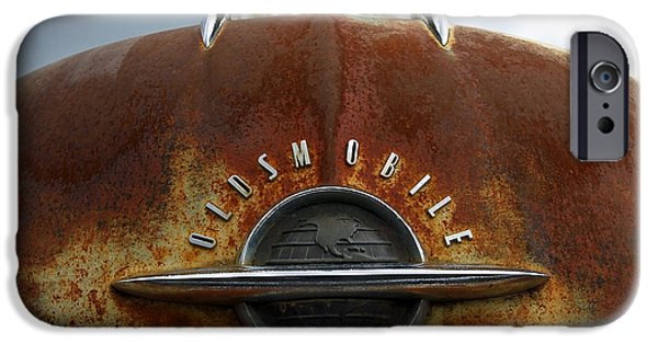 1949 Plymouth iPhone Cases - Oldsmobile iPhone Case by Steve McKinzie