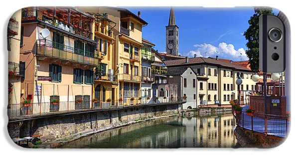 Balcony iPhone Cases - Omegna - Piedmont iPhone Case by Joana Kruse