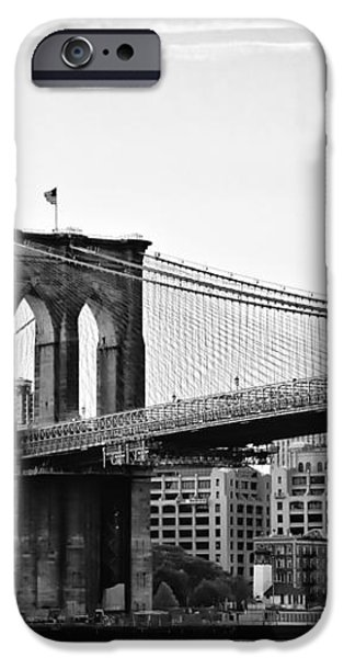 On the Brooklyn Side iPhone Case by Bill Cannon
