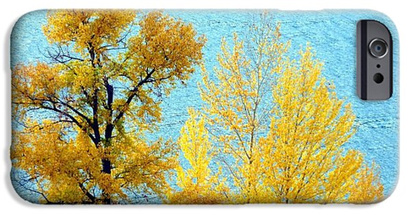 Autumn Leaf On Water iPhone Cases - On The Edge iPhone Case by Will Borden