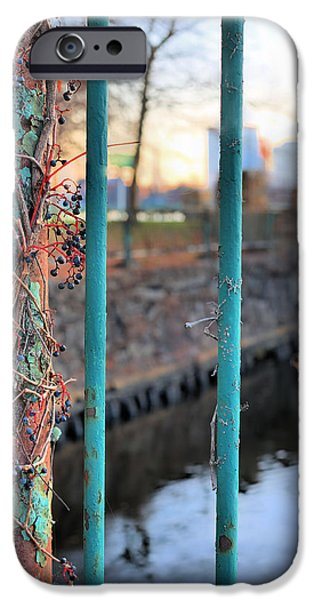 Charles River iPhone Cases - On the Fence iPhone Case by JC Findley