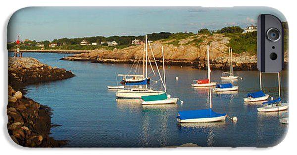 Sailboat Ocean iPhone Cases - On the Rocks iPhone Case by Joann Vitali