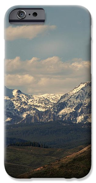 On the way to Jacksonhole WY iPhone Case by Susanne Van Hulst