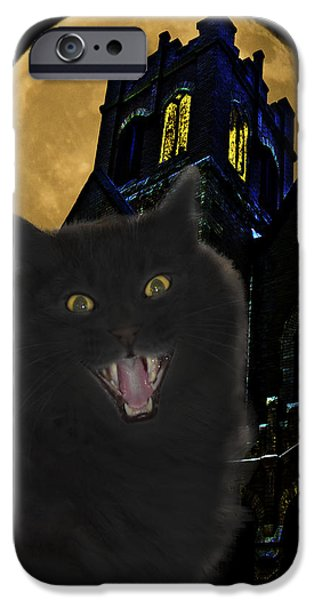 One Dark Halloween Night iPhone Case by Shane Bechler