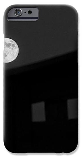 One Small Step For A Man iPhone Case by Melany Sarafis