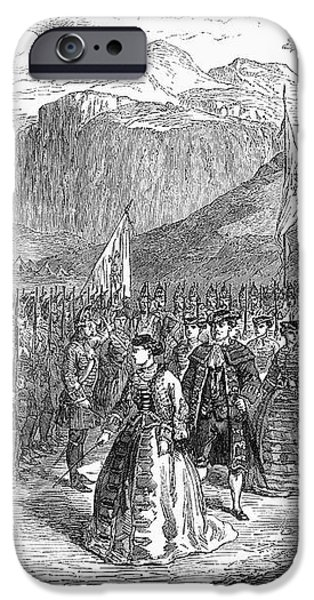 OPERA: GRAND DUCHESS, 1867 iPhone Case by Granger