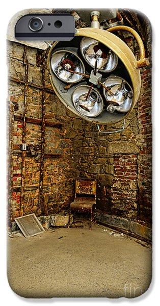 Operating iPhone Cases - Operating Room - Eastern State Penitentiary iPhone Case by Paul Ward