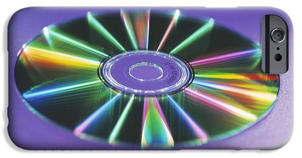 Disc iPhone Cases - Optical Disc iPhone Case by Lawrence Lawry