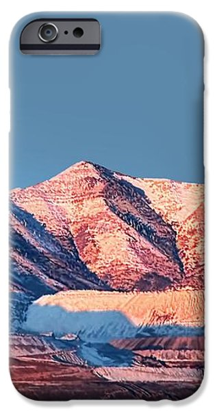Oquirrh Mountains Utah First Snow iPhone Case by Tracie Kaska