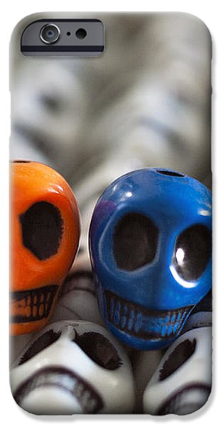 Orange And Blue iPhone Case by Mike Herdering