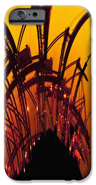 Orange and Yellow iPhone Case by Skip Nall