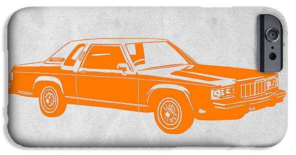 Concept iPhone Cases - Orange Car iPhone Case by Naxart Studio