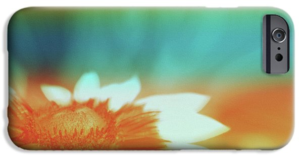 Floral Digital Art Digital Art iPhone Cases - Orange Dreams iPhone Case by Linda Sannuti