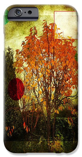 Berry Digital iPhone Cases - Orange Tree iPhone Case by Svetlana Sewell