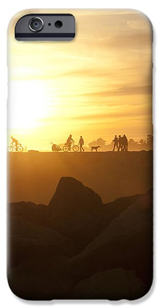 Ordinary Day Extraordinary Life iPhone Case by Artist and Photographer Laura Wrede