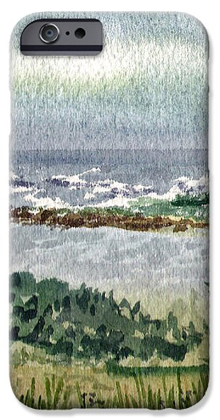 Oregon Shore iPhone Case by Irina Sztukowski