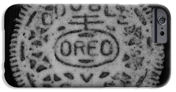 Oreo iPhone Cases - OREO in MATTE FINISH iPhone Case by Rob Hans