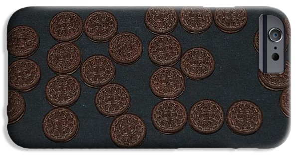 Oreo iPhone Cases - Oreo iPhone Case by Rob Hans