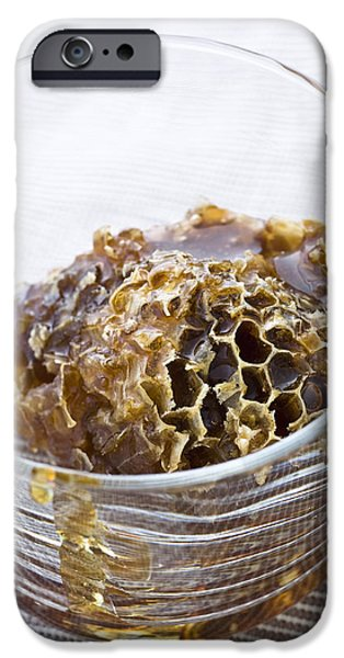 Organic iPhone Cases - Organic honey comb iPhone Case by Frank Tschakert
