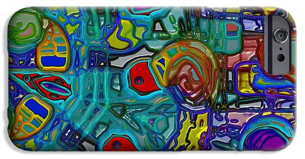 Disorder iPhone Cases - Organized Chaos iPhone Case by Alec Drake