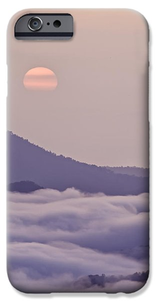 Oriental Blue Ridge Sunrise iPhone Case by Rob Travis