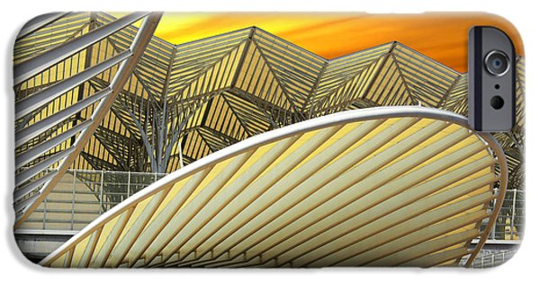 Hi-tech iPhone Cases - Oriente Station iPhone Case by Carlos Caetano