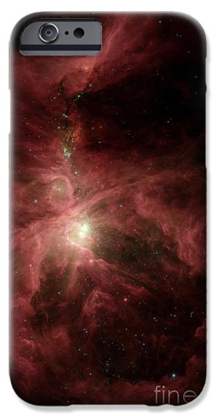 Constellations iPhone Cases - Orions Inner Beauty iPhone Case by Stocktrek Images