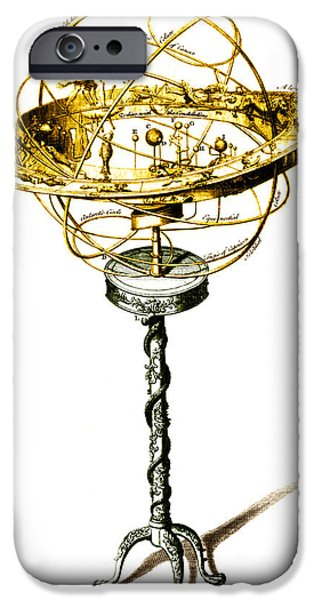 Orrery Illustration iPhone Case by Science Source