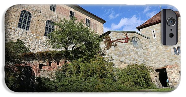 Oslo iPhone Cases - Oslo Castle - Akershus iPhone Case by Carol Groenen