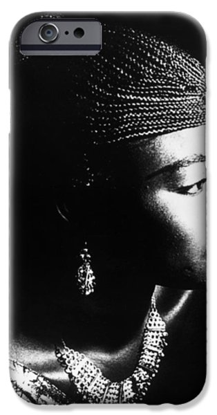 1990s iPhone Cases - Oumou Sangarare (1968- ) iPhone Case by Granger