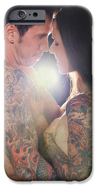 Women Together iPhone Cases - Our Love Shines iPhone Case by Laurie Search