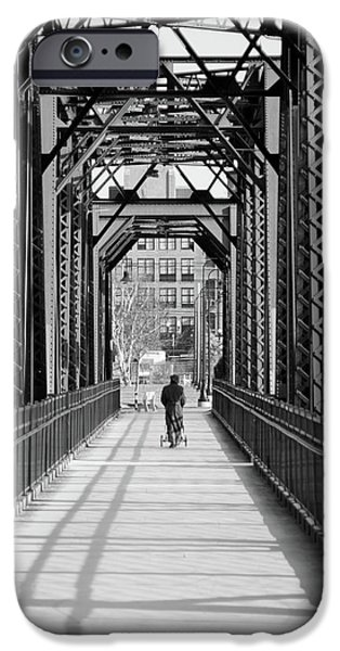 Androscoggin iPhone Cases - Out For a Stroll iPhone Case by Guy Whiteley