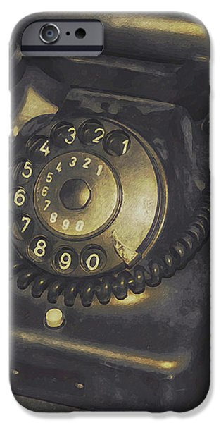 Out of Service iPhone Case by Jutta Maria Pusl
