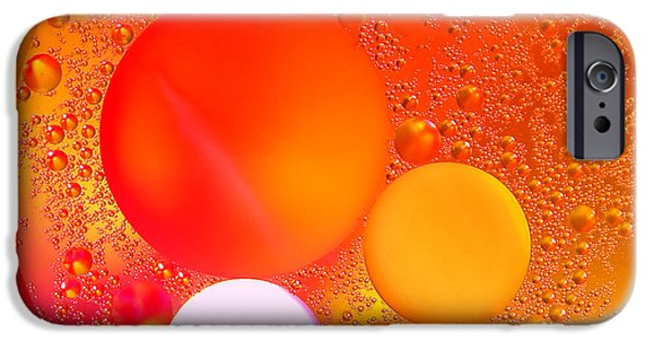 Color Effect iPhone Cases - Out There iPhone Case by Olivier Le Queinec