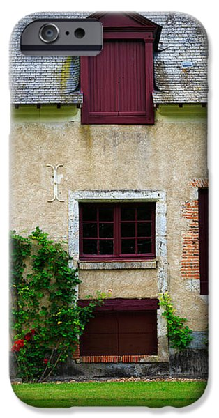 Outbuildings of Chateau Cheverny iPhone Case by Louise Heusinkveld