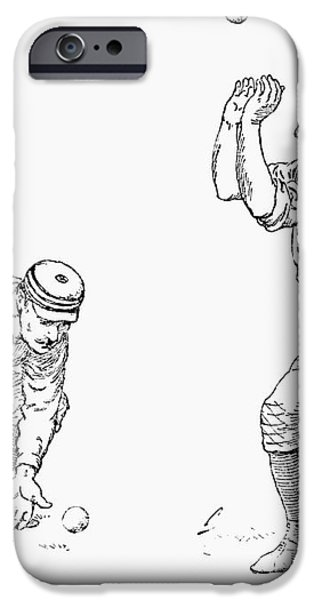 OUTFIELDER, 1889 iPhone Case by Granger