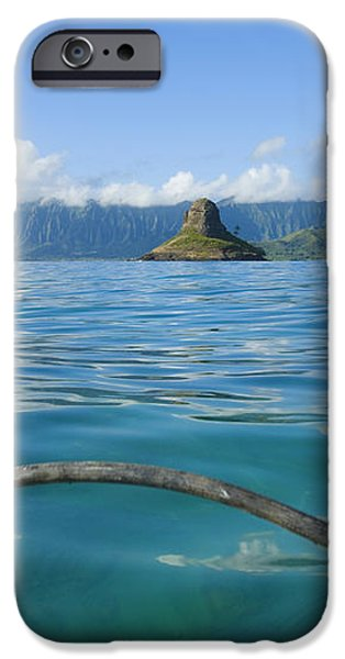 Outrigger on Ocean iPhone Case by Dana Edmunds - Printscapes