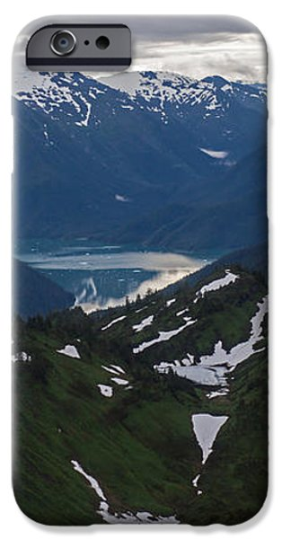 Over Alaska iPhone Case by Mike Reid