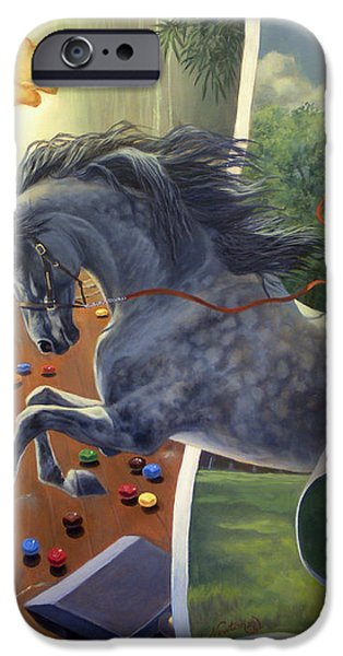 Over The Edge iPhone Case by Jeanne Newton Schoborg