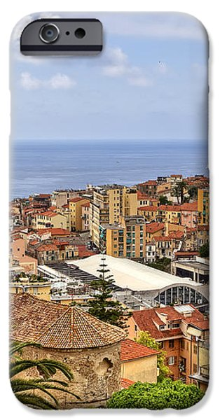 Over the roofs of Sanremo iPhone Case by Joana Kruse
