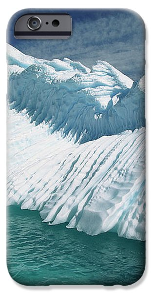Overturned Iceberg With Eroded Edges iPhone Case by Colin Monteath