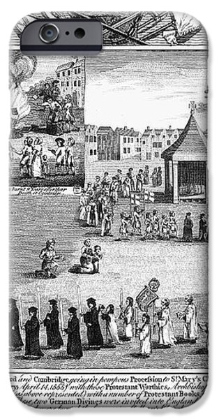 OXFORD MARTYRS, 1556 iPhone Case by Granger