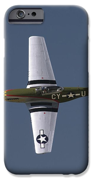 P-51 Gunfighter iPhone Case by Tim Mulina