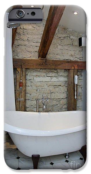 Pädaste Manor Bathtub iPhone Case by Jaak Nilson