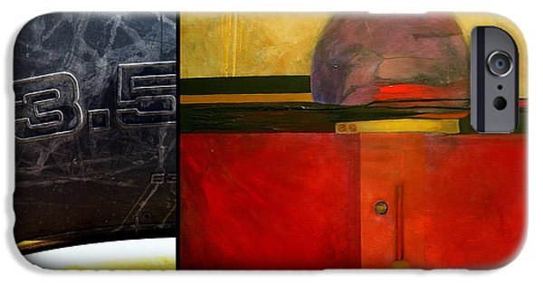 Abstract Expressionism iPhone Cases - p HOTography 47 iPhone Case by Marlene Burns