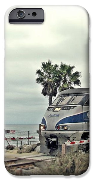 Pacific Surfliner Amtrak Train iPhone Case by Traci Lehman