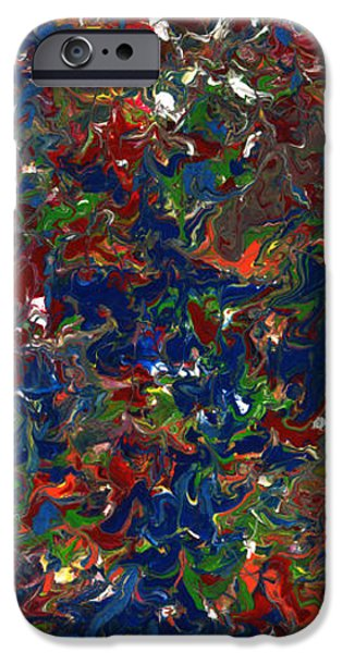 Paint number 1 iPhone Case by James W Johnson