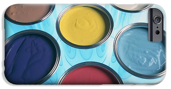 Diy iPhone Cases - Paint Tins iPhone Case by Tek Image