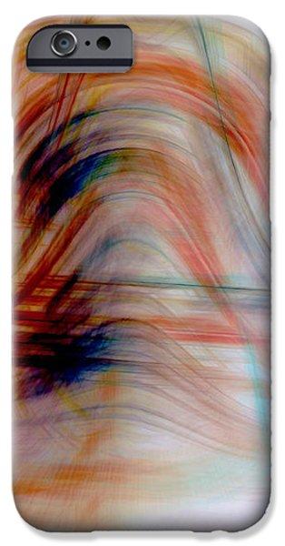 Painted Windows iPhone Case by Linda Sannuti