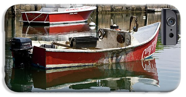 Rockport Ma iPhone Cases - Painter Wanted iPhone Case by Warren Carrington